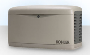 Propane backup power Kohler generator