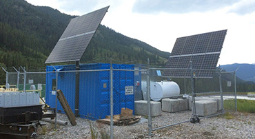 Commercial Off-Grid Solar