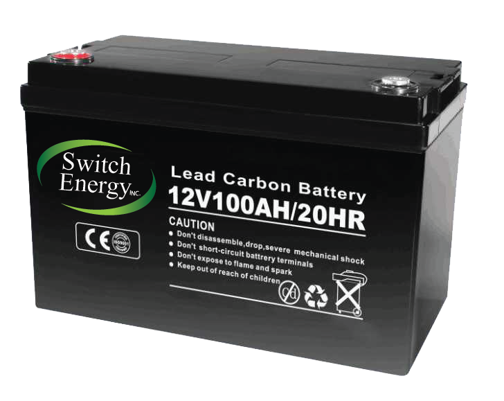 12V 100Ah lead carbon batteries